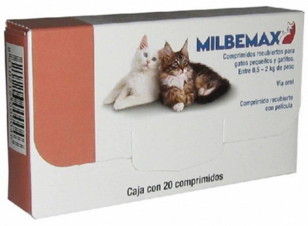 Medicamento para parásitos internos de los gatos