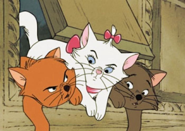Nombre para tu gato de los aristogatos de Disney