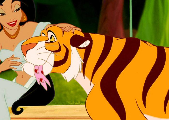 Personaje Rajá de Disney