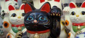 Gato chino de la suerte Maneki Neko